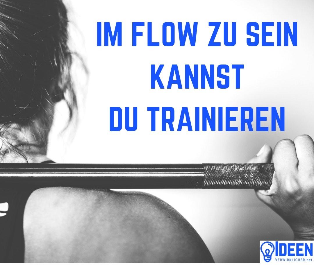 Fokussiert und im Flow zu sein kann man trainieren und hilft bei der täglichen Arbeit