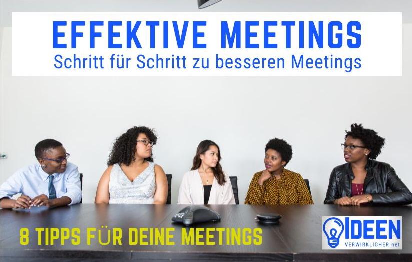 Effiziente Meetings – 8Tipps